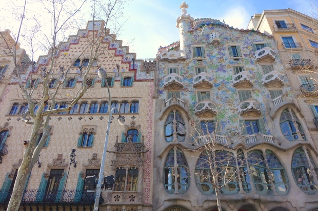 Expect to walk past some amazing architecture on the Gaudi walking tour